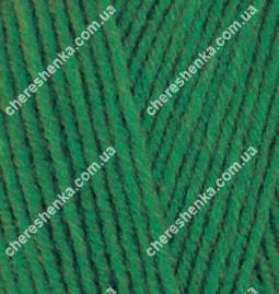 Нитки Alize Lanagold 800 118 зеленая трава, фото 2