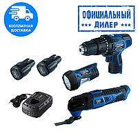 Набор аккумуляторный мультифункциональный Scheppach SET L1+(090105682)