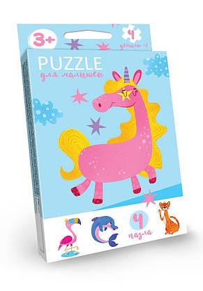 """Розвиваючі пазли """"Puzzle для малюків"""" Danko Toys, фото 2"""