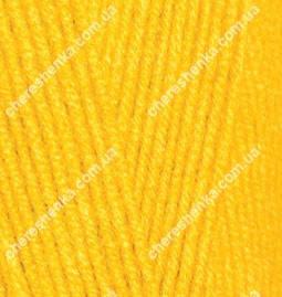 Нитки Alize Lanagold 800 216 желтый, фото 2