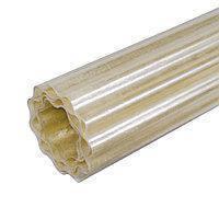 Рулонний пластиковий шифер FIBROLUX 2,0 м гофрований прозорий, фото 2
