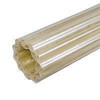Рулонный пластиковый шифер FIBROLUX 2,0м гофрированный прозрачный, фото 2