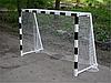 Сетка минифутбольная (гандбольная) профессиональная , 100х100 мм диаметр шнура 4.5мм без гасителя