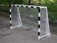 Сетка минифутбольная (гандбольная) профессиональная , диаметр шнура 4.5мм без гасителя