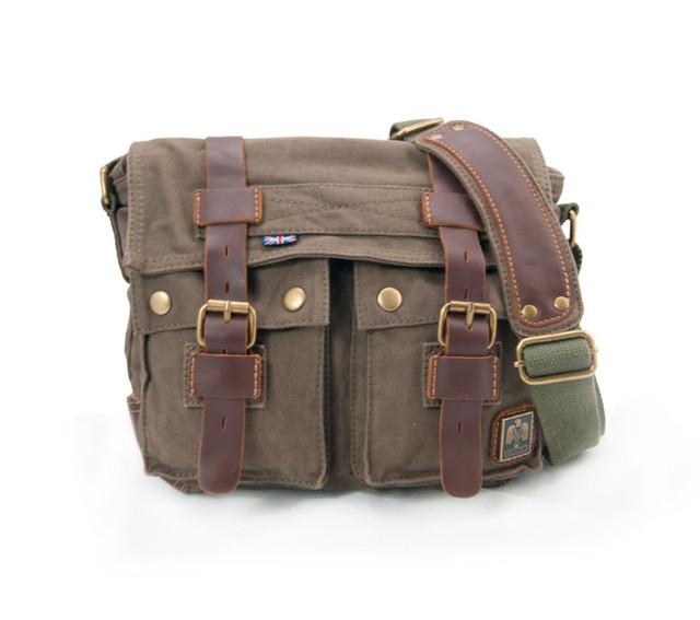 Мужская сумка через плечо из ткани Akarmy.