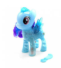 """Поні """"My Little Pony"""", з проектором (блакитний) 2018"""