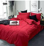 Комплект постельного белья однотонный   Бязь  GOLD 100% хлопок Темно - синего  цвета, фото 8