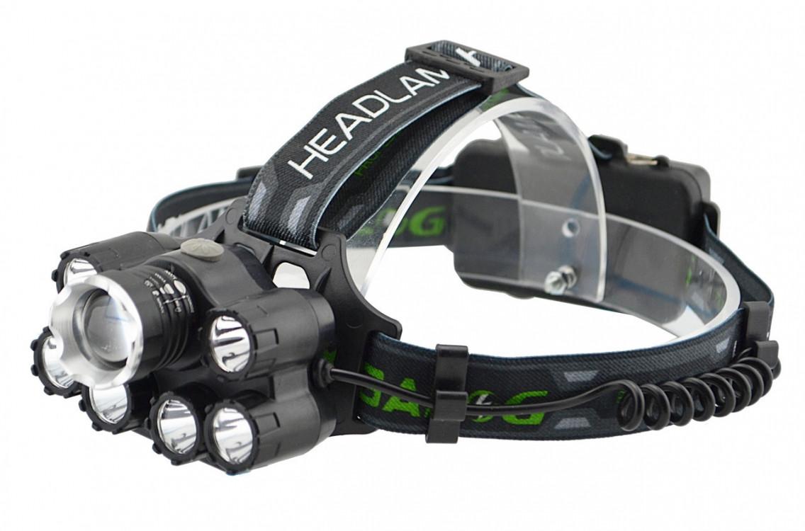 Ліхтар з кріпленням на голову світлодіодний налобний Police
