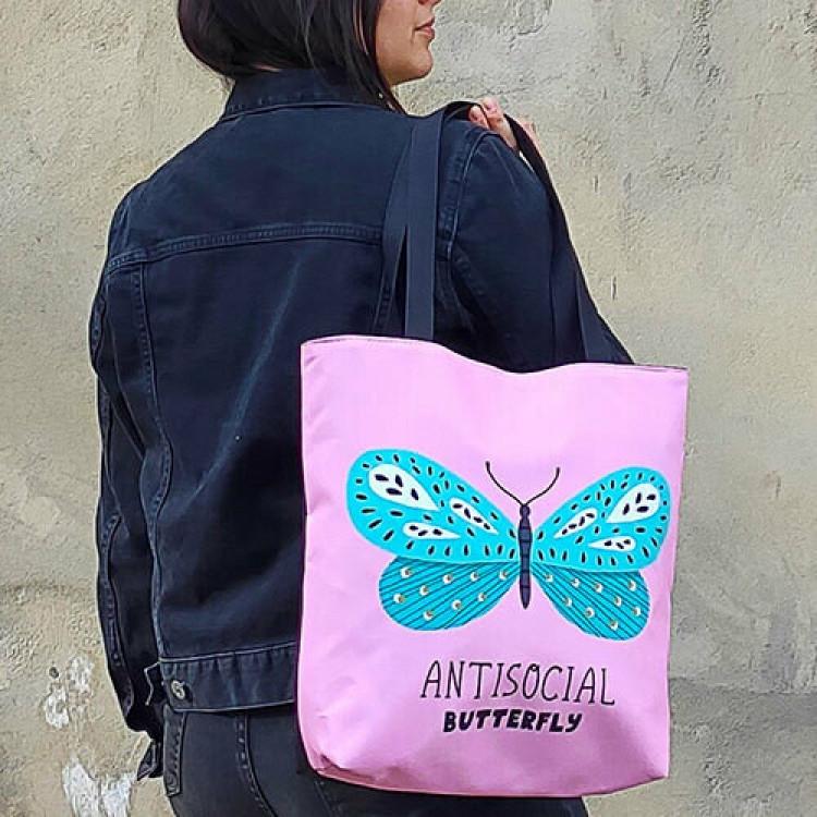Сумка женская Antisocial butterfly