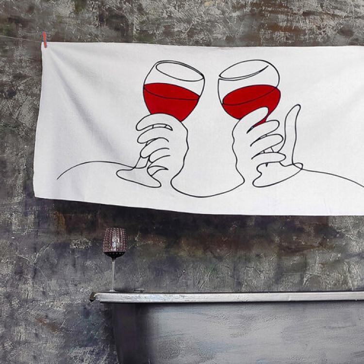 Рушник Wine 150х70 см