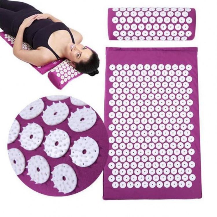 Акупунктурний масажний килимок і подушка Yantra Mat