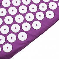 Акупунктурний масажний килимок і подушка Yantra Mat, фото 4