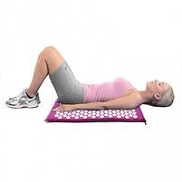 Акупунктурний масажний килимок і подушка Yantra Mat, фото 5