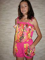 """Летний костюм для девочки """"Хулиганка"""" змейка  Детская одежда оптом. , фото 1"""