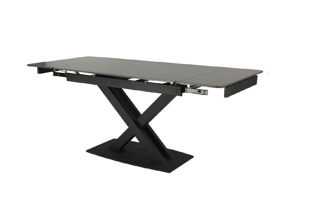Керамічний стіл TML-817 чорний онікс