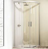Двустворчатая раздвижная дверь 80x80 см Huppe Design elegance 8E3037