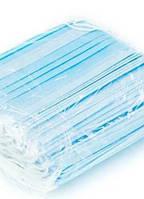 Маска медицинская трехслойная  , оригинал 50 штук в упаковке, фото 1