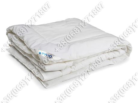 Ковдра дитяча зимова Руно 105х140 силіконова біла, фото 2