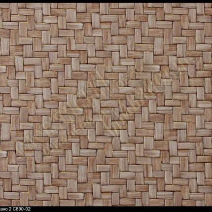 Обои виниловые, коридор, коричневые, на кухню, Американо 890-02, супер-мойка, 0,53*12м, фото 2