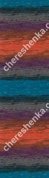 Нитки Alize Lanagold Batik 4209