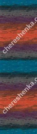 Нитки Alize Lanagold Batik 4209, фото 2