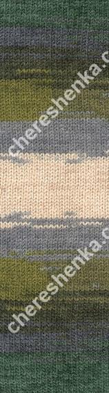 Нитки Alize Lanagold Batik 4292