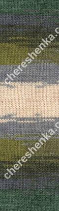 Нитки Alize Lanagold Batik 4292, фото 2