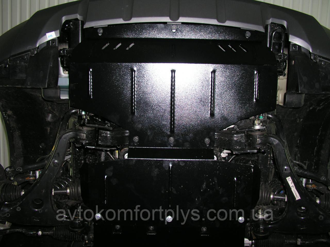 Металлическая (стальная) защита двигателя (картера) Kia Mohave (2008-) (V-3,0TDI; 3,8 Б)