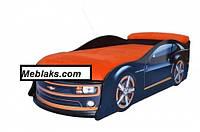 Кровать машина Камаро черная (большая)