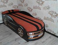 Кровать машина Камаро черная , фото 1