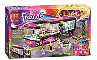 Конструктор Bela серия Friends / Подружки 10407 Автобусный тур поп-звезды (аналог Lego Friends 41106)