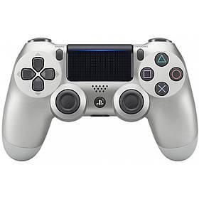 Джойстик Sony DualShock 4 V2 для PS4 Геймпад Беспроводной Серебристый