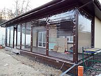 Окна из прозрачного пвх для павильона., фото 1