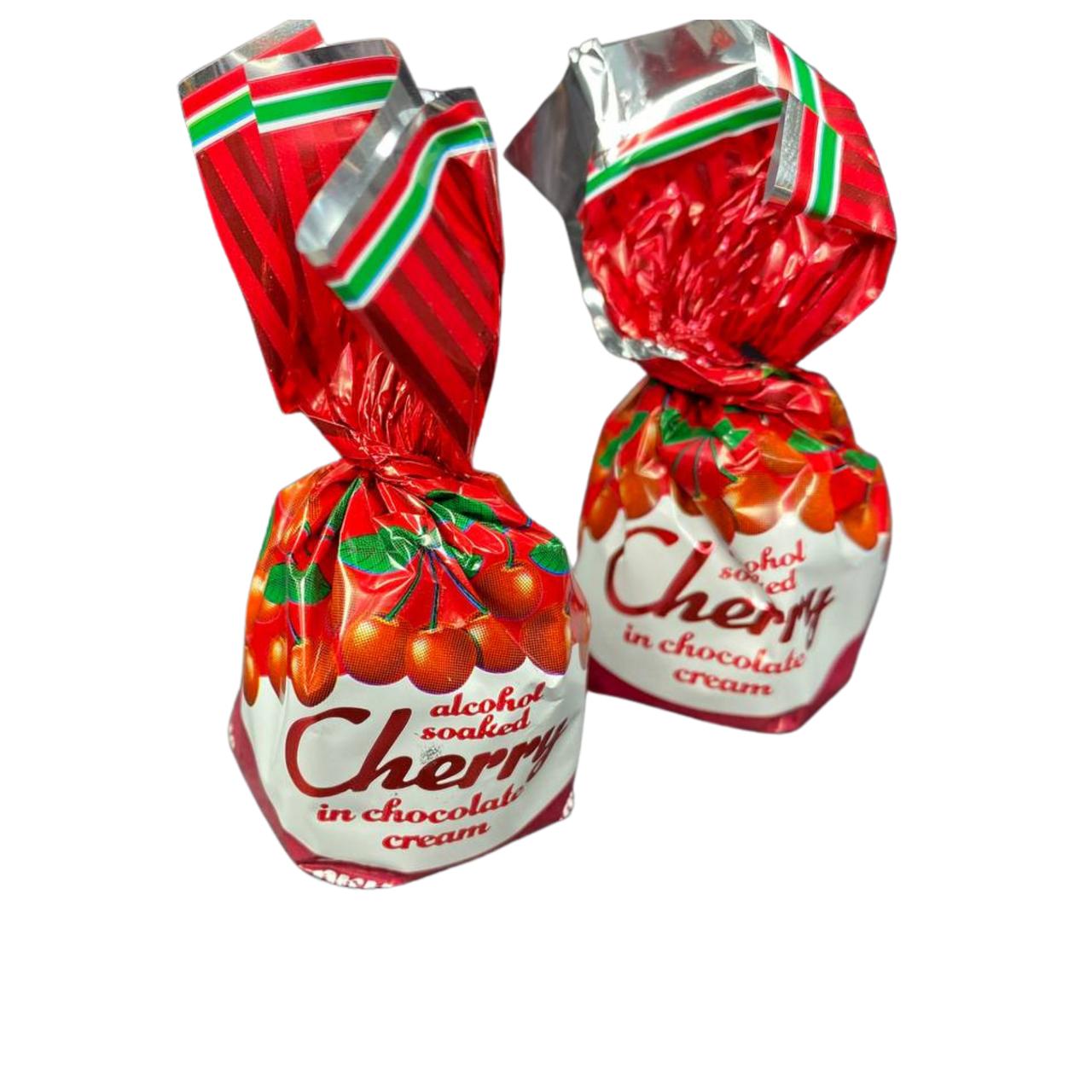 Конфеты Вишня заспиртованая в шоколадном креме 3кг. ТМ ХБФ