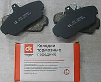 Колодка тормозная ГАЗ 3302 передняя  (компл. 4шт.) (пр-во ДК)