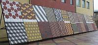 Укладка тротуарной плитки (фигурно)