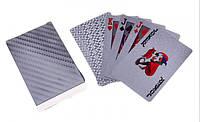 Карты игральные серебро, фото 1