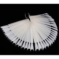 Палитра - веер на кольце матовая (50 образцов).