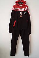 """Детский спортивный костюм с капюшоном """"Adidas 3"""" (122-140р)"""