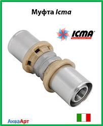 Муфта пресс соединительная Icma 16*16  Арт. 400