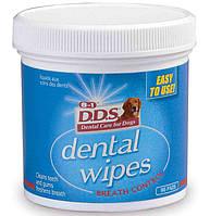 Салфетки для очищения зубов собак, 8in1 90 шт