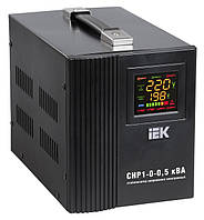 Стабилизатор напряжения Home  0,5 кВА (СНР1-0-0,5) рел. перен. IEK