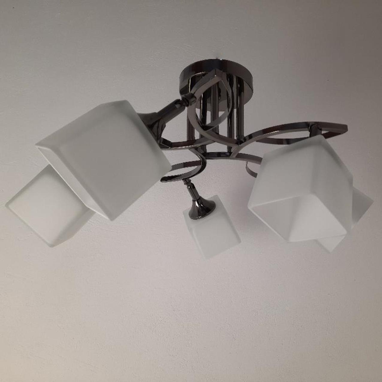 Люстра потолочная на пять ламп 3-N3498/5 BCH