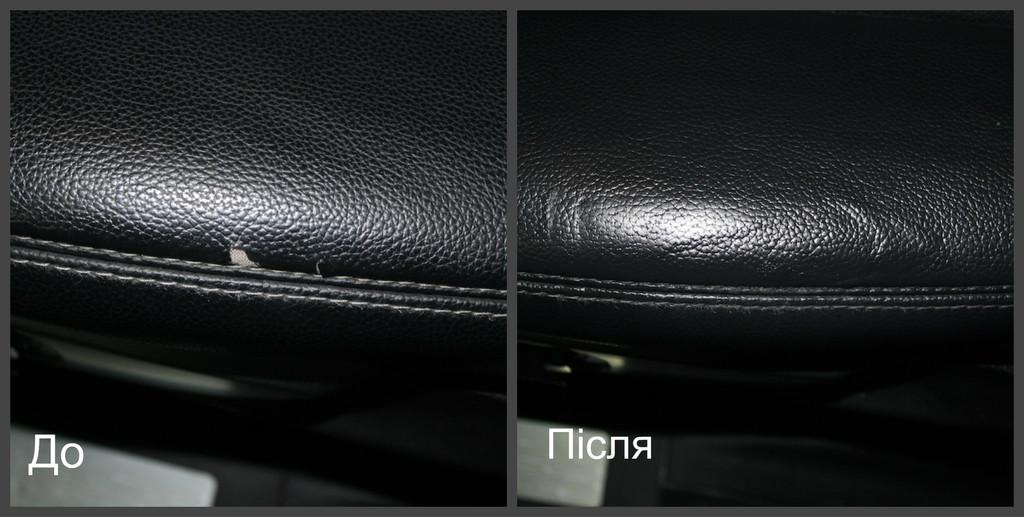 1. Реставрація пошкоджень на шкіряній поверхні - Fenice Domino Leather