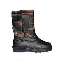 Мужские сапоги-ботинки ЗИМА резиновые термос теплые 41,42 размеры 1104, фото 1