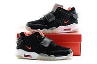 Баскетбольные кроссовки Air Trainer Cruz черные