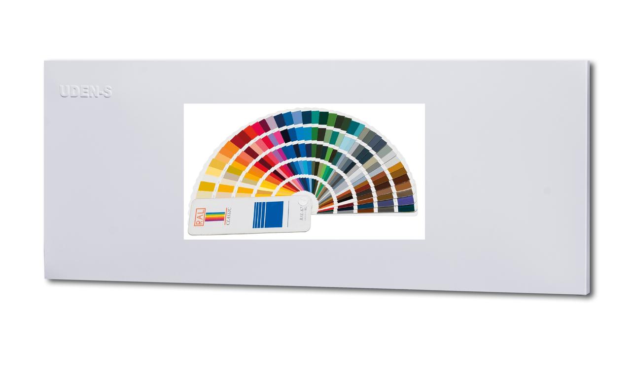 Металлокерамический дизайн-обогреватель Uden-S UDEN-500D одноцветный по каталогу RAL
