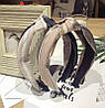 Обруч для волос чалма, модный обруч для волос с узелком, фото 4
