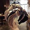 Обруч для волос чалма, модный обруч для волос с узелком, фото 3