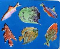 Трафарет фигурный Аквариумные рыбки 10С 531-08